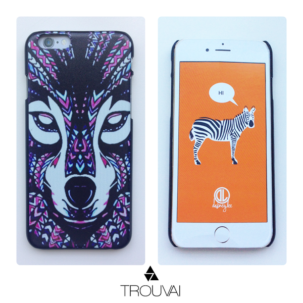 Neon Wolf iPhone 6 case