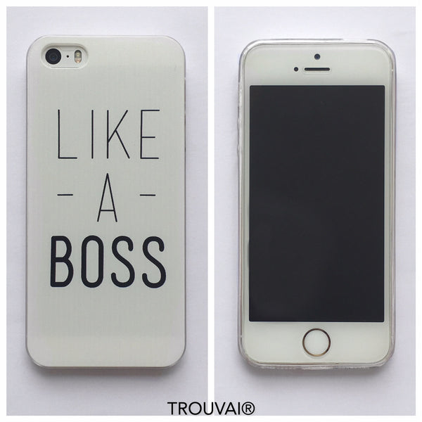 Estuche iPhone 5/5s. Modelo Like a Boss.