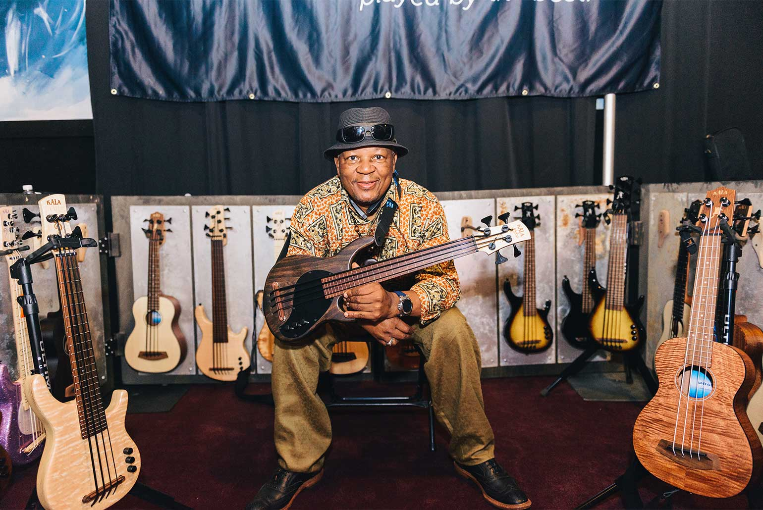 Kala U•Bass Artist Bakithi Kumalo at Bass Player LIVE! 2017