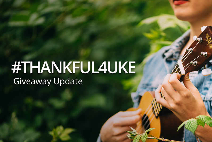 #THANKFUL4UKE Giveaway Update