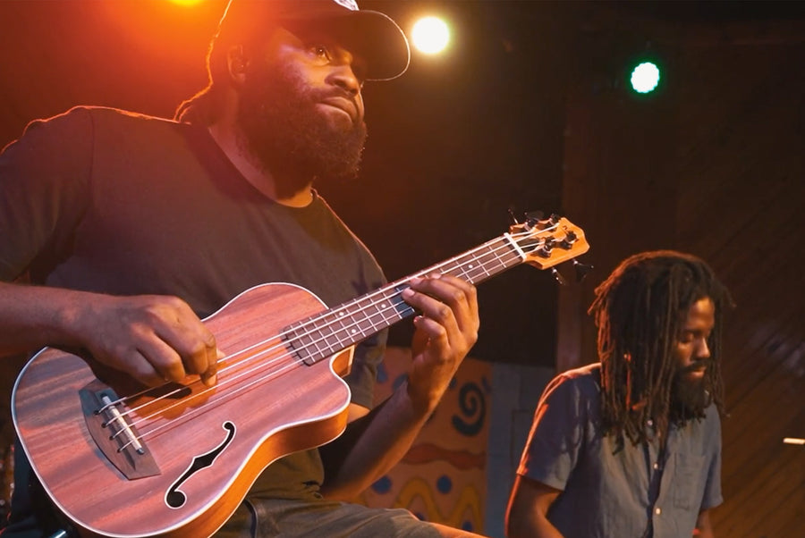 Kala Ukulele & U•BASS® Debuted in Jamaica