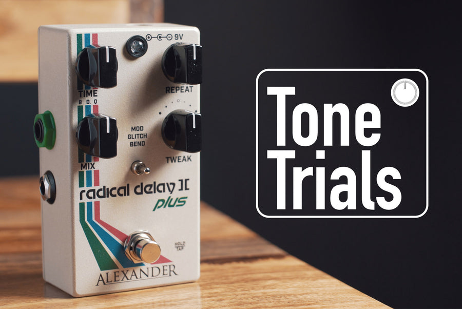 Kala Brand Music Co.'s Tone Trials ft. Alexander Pedals Radical Delay II+