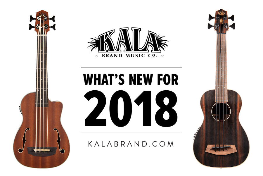 Kala Brand Music Co. 2018 New U•Bass Spread
