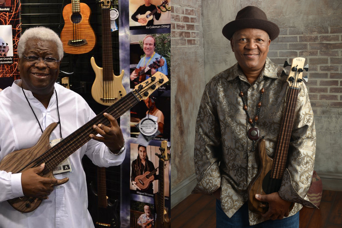 Kala U•Bass Artists Abraham Laboriel Sr. and Bakithi Kumalo