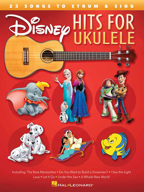 Disney Hits for Ukulele - Instructional Songbook
