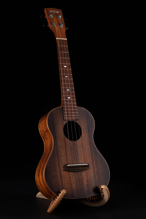 B-Stock: Satin Hawaiian Koa Tobacco Burst Tenor Ukulele with Binding