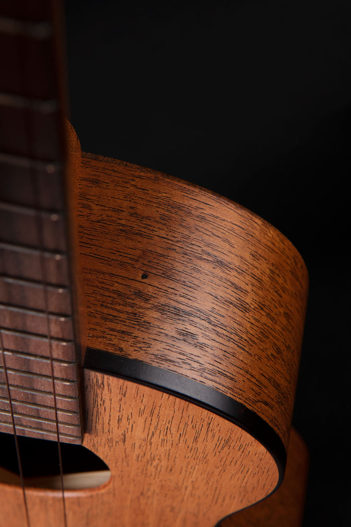 B-Stock: Honduran Mahogany Doghair Tenor Ukulele with Tortoiseshell Binding