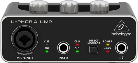 Berhringer UM-2 Audio Interface