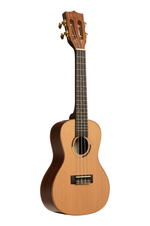 All Solid Cedar Top Solid Pau Ferro Concert Ukulele