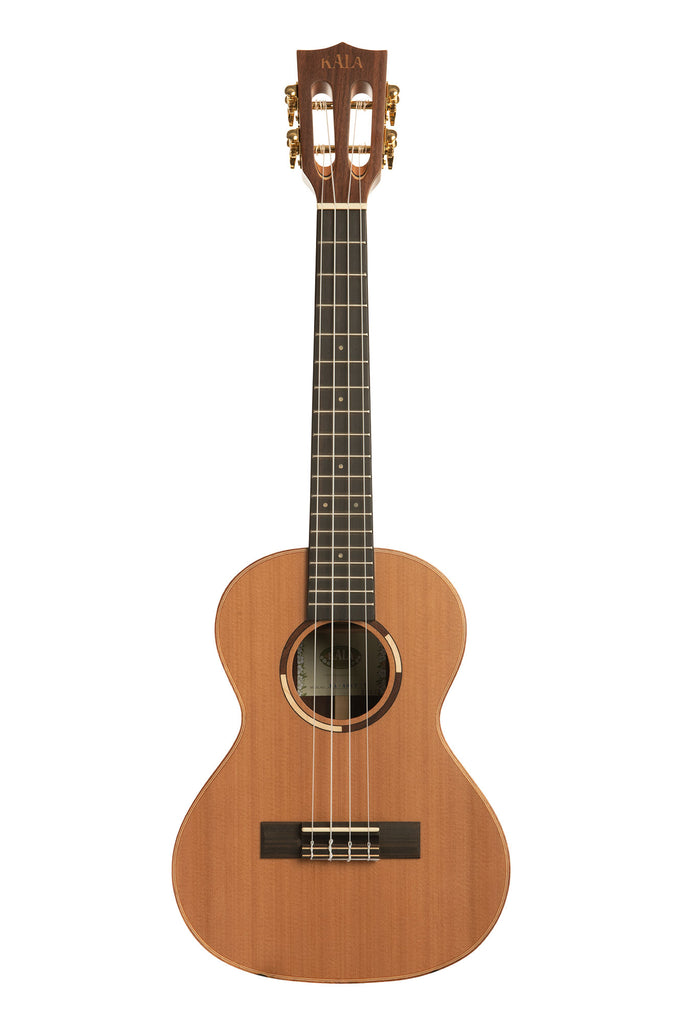 All Solid Cedar Top Solid Pau Ferro Tenor Ukulele