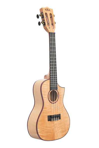 Solid Flame Maple Concert Cutaway
