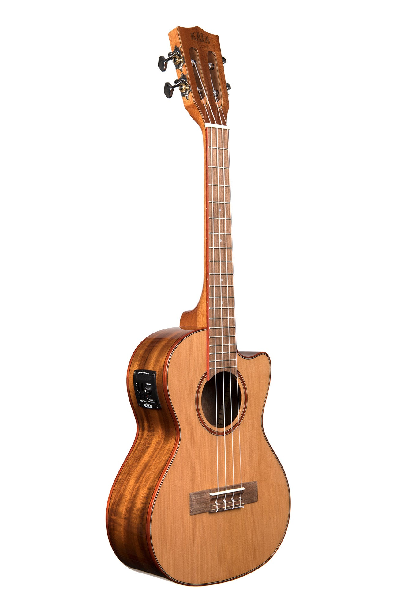Solid Cedar Acacia Tenor Cutaway W Eq Kala Brand Music Co