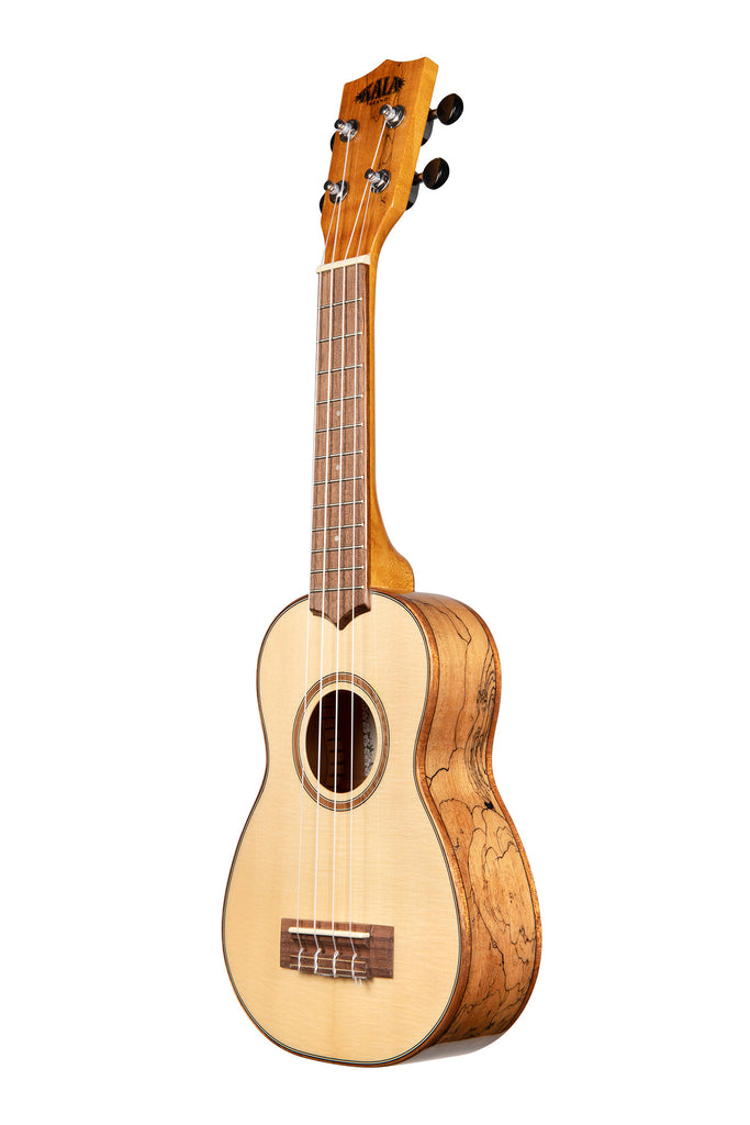 Solid Spruce Flame Maple Soprano