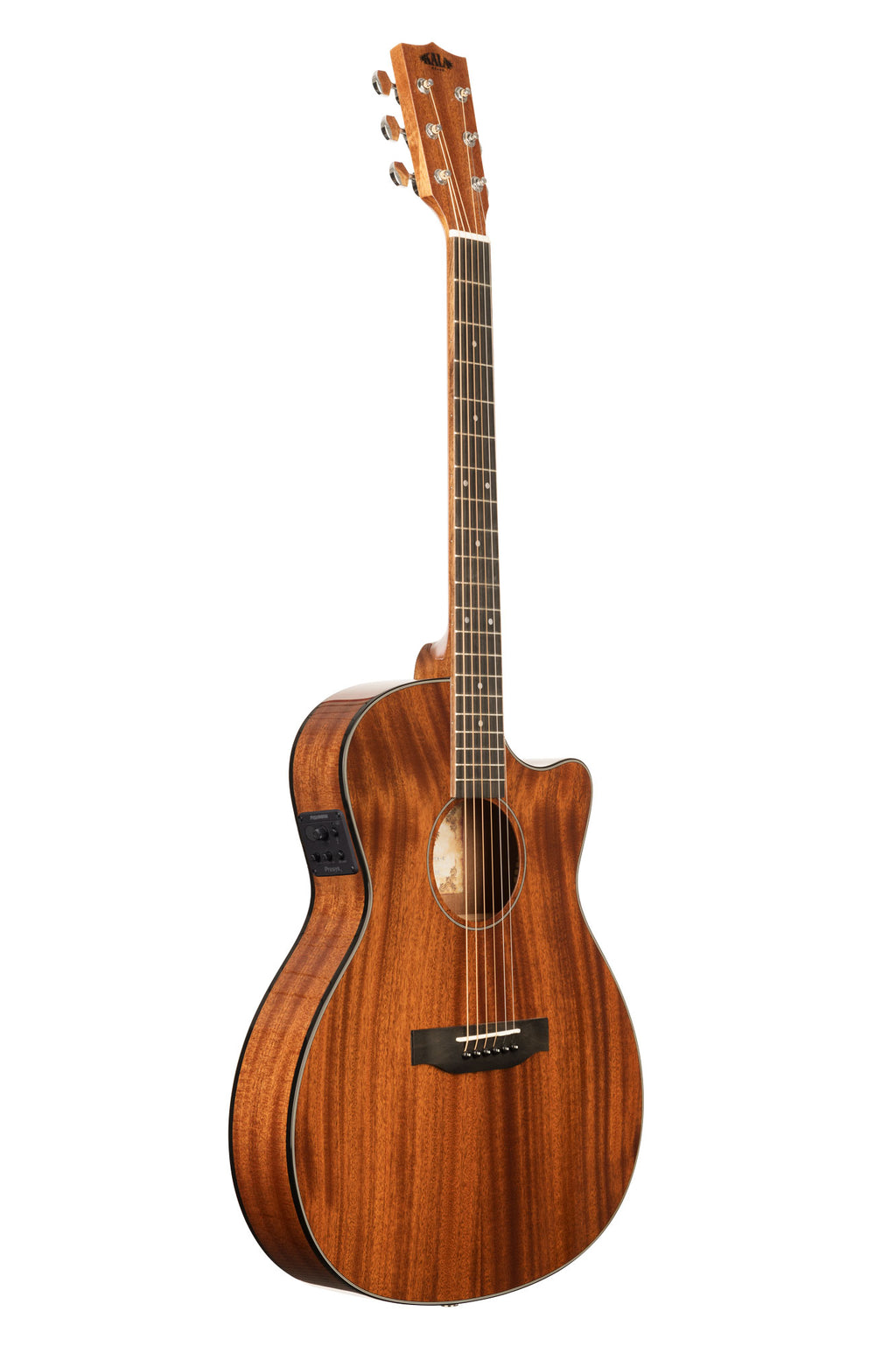 BLEM - Solid Mahogany Thinline Guitar