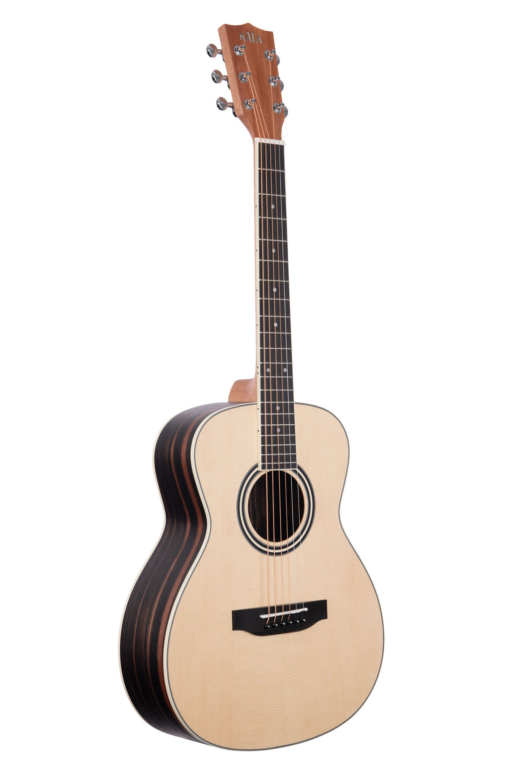 Solid Spruce Top Ebony Orchestra Mini Guitar