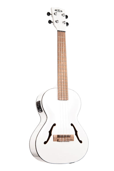 Metallic White Archtop Tenor