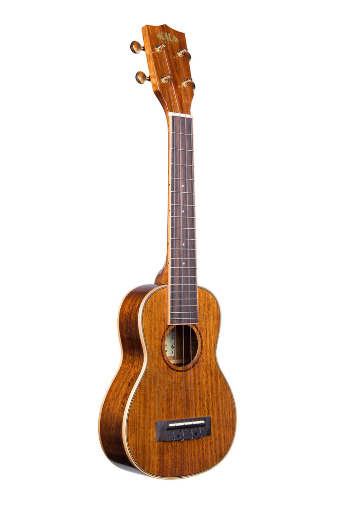 Hawaiian Koa Gloss Long Neck Soprano