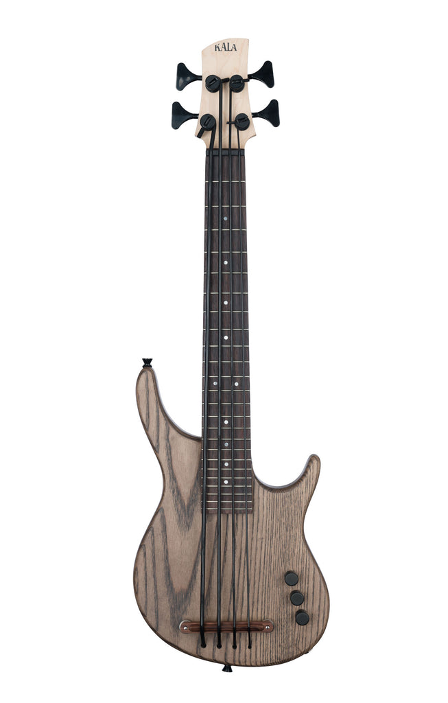 Solid Body Espresso Brown 4-String Fretted