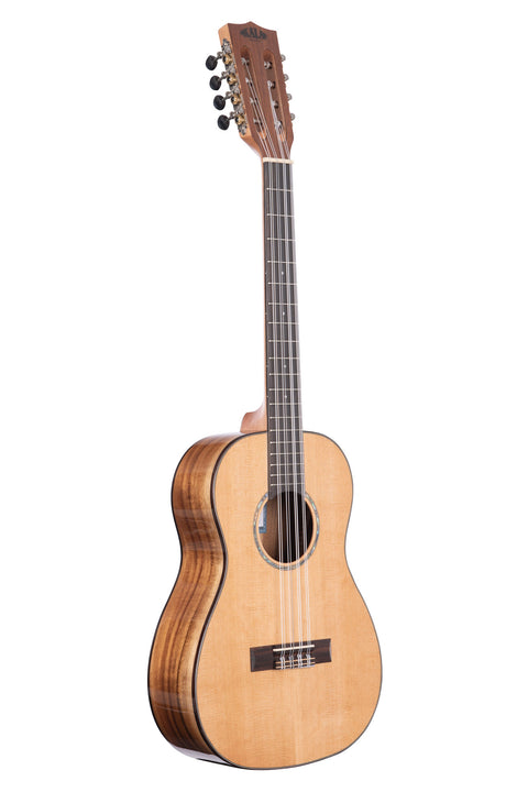 Gloss Solid Cedar Top Acacia 8 String Baritone