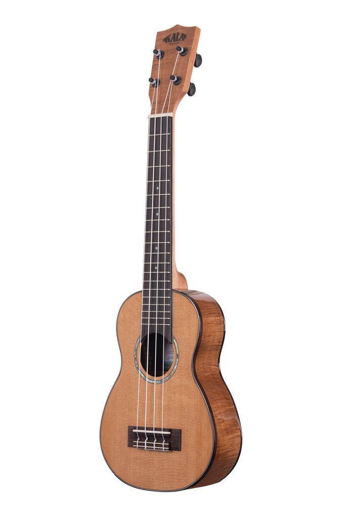 Gloss Solid Cedar Top Acacia Long Neck Soprano