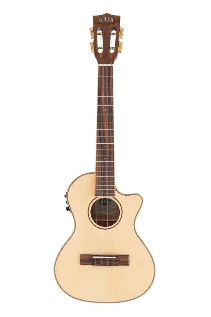 Solid Spruce Top Koa Gloss Tenor Cutaway w/EQ
