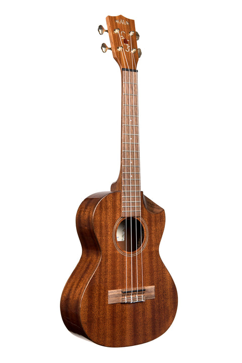 Solid Mahogany Scallop Tenor