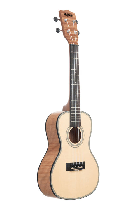 Solid Spruce Top Exotic Mahogany Concert