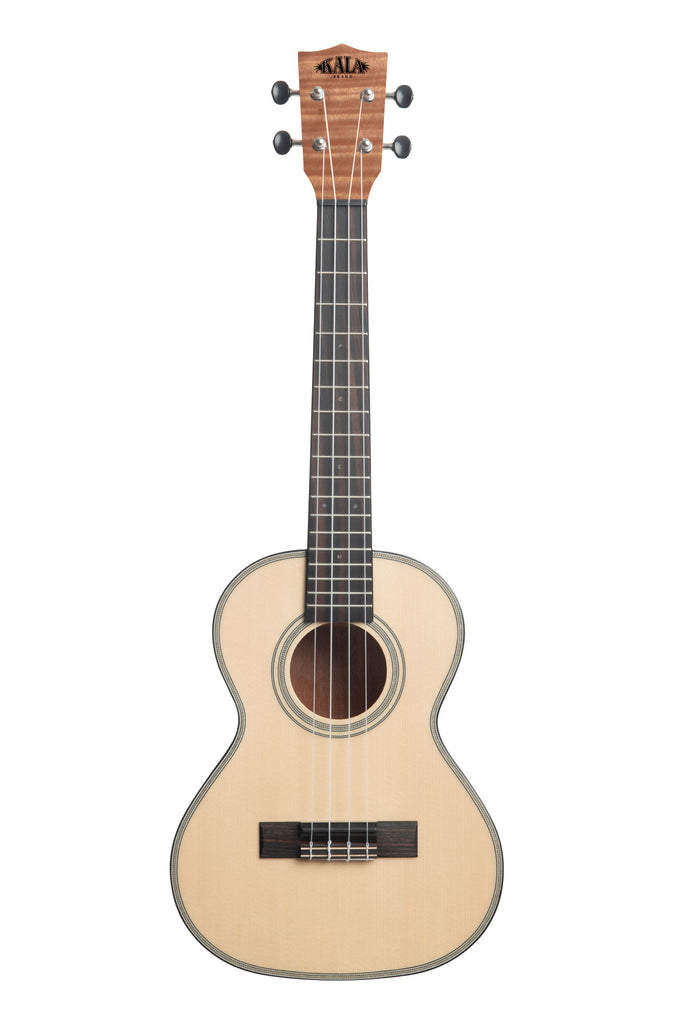 Solid Spruce Top Exotic Mahogany Tenor