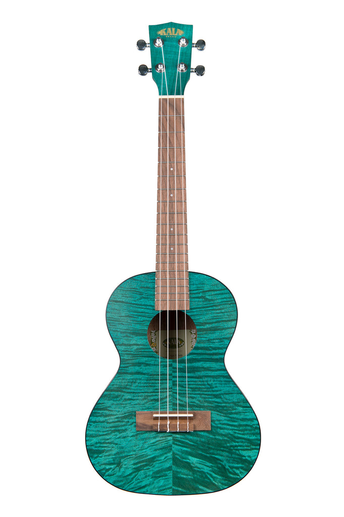 Blue Exotic Mahogany Tenor