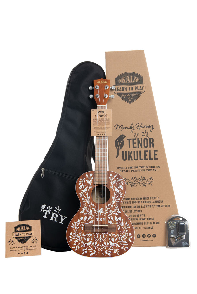 Mandy Harvey Learn To Play Signature Series Tenor Ukulele