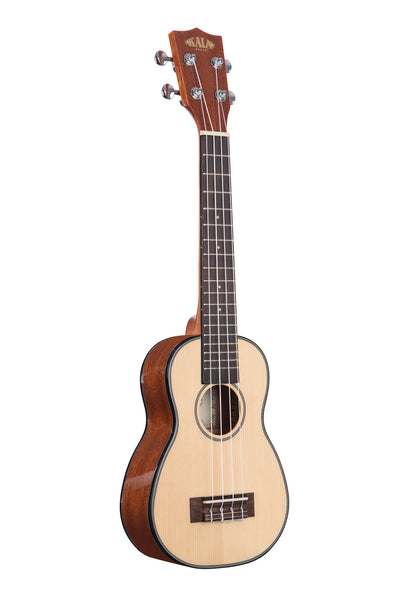 Solid Spruce Mahogany Long Neck Soprano