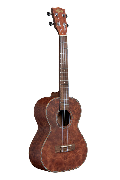Chocolate Exotic Burl Tenor Ukulele