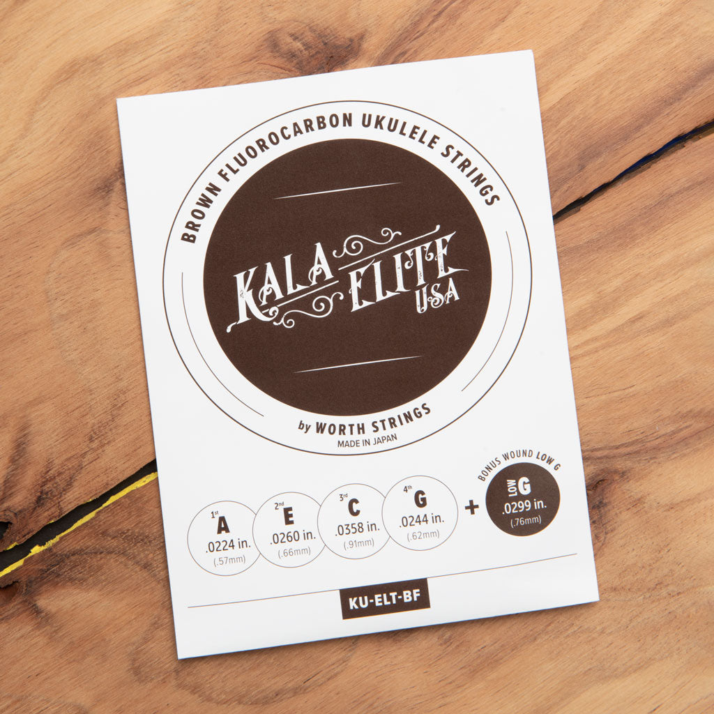 Kala Elite USA Brown Fluorocarbon Strings