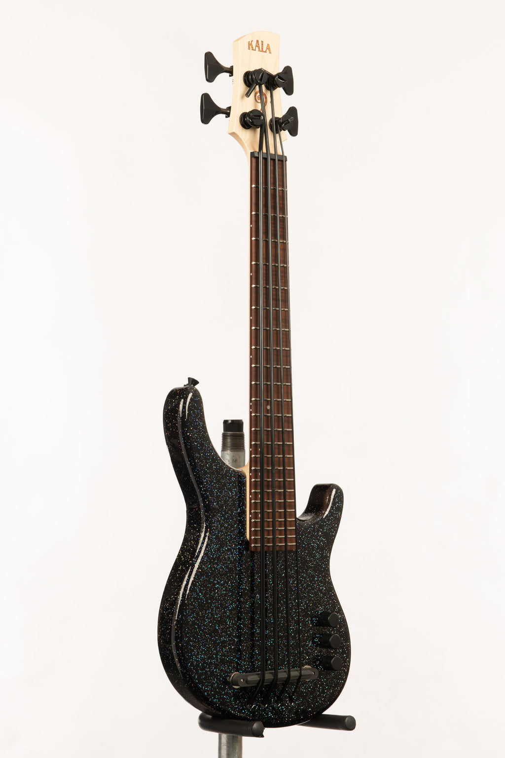 Gravity Black 4 String Fretted California U•BASS®