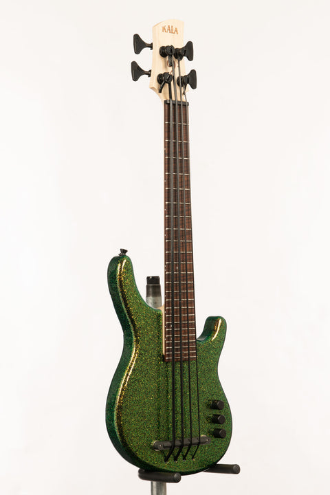 Cosmic Green 4 String Fretted California U•BASS®