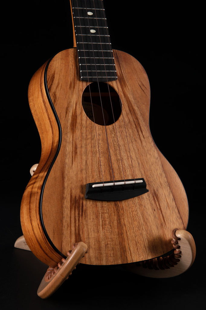 B-Stock: Satin Hawaiian Koa Concert Ukulele with Binding