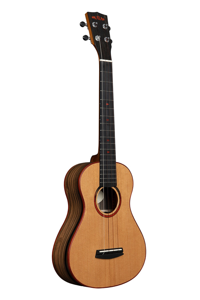 Torrefied Spruce Top Ebony Super Tenor Ukulele