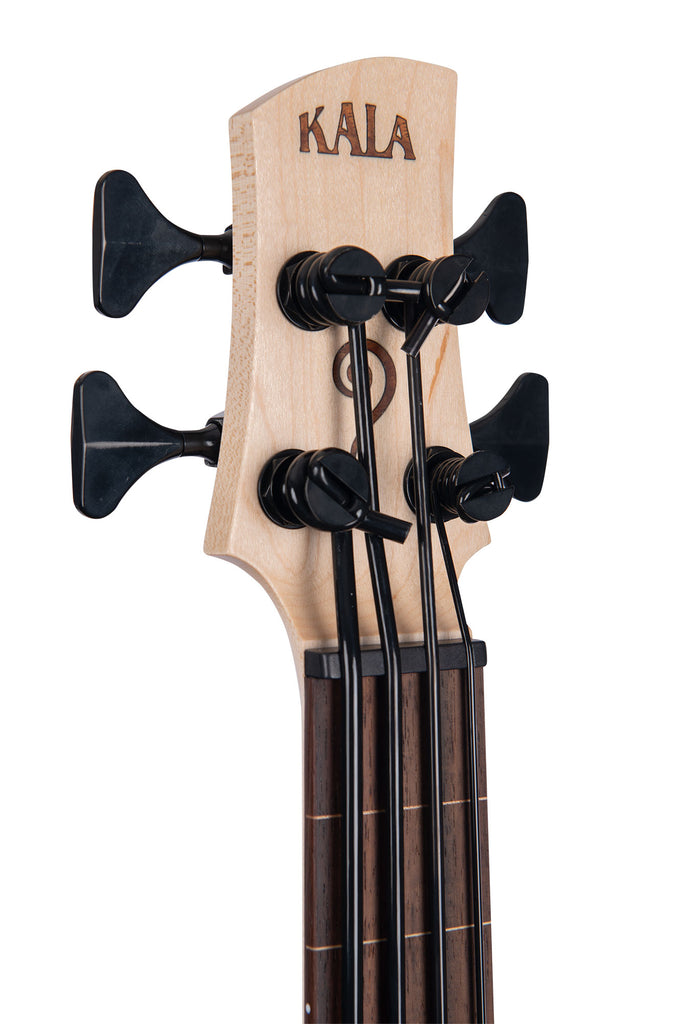 Koa 4 String Fretless California U•BASS®
