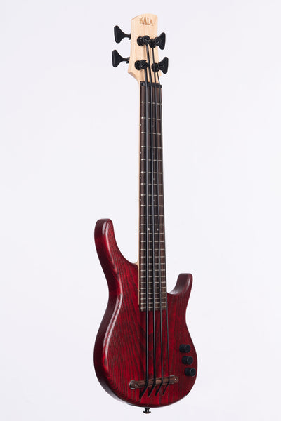 Bordeaux Red Swamp Ash 4 String Fretted California U•BASS®