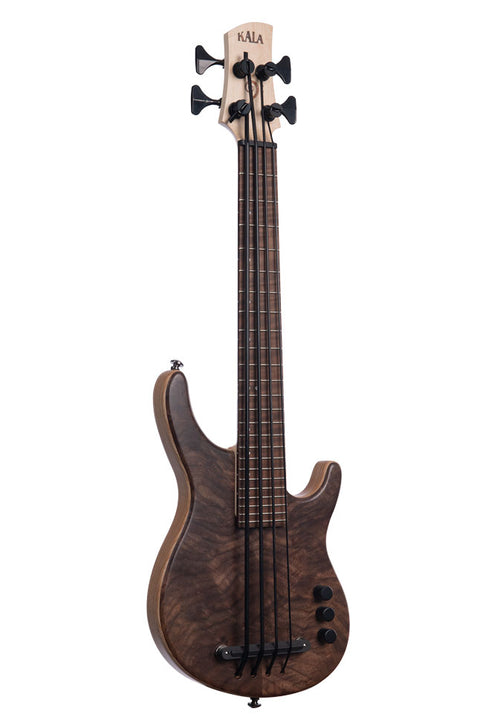 Walnut 4 String Fretted California U•BASS®