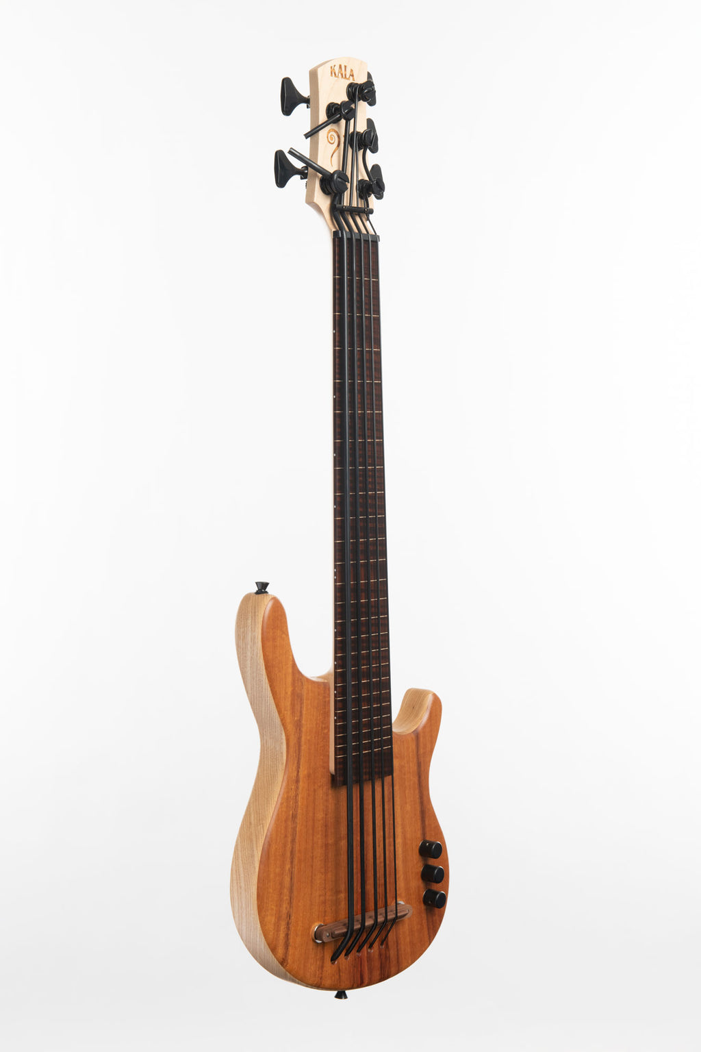 Koa 5 String Fretless California U•BASS®