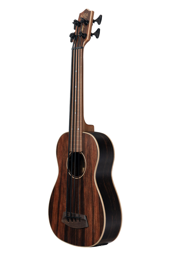 BLEM - Striped Ebony Fretless Acoustic-Electric U•BASS®