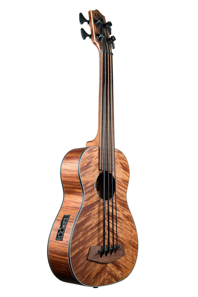 Exotic Mahogany Fretless Acoustic-Electric U•BASS®
