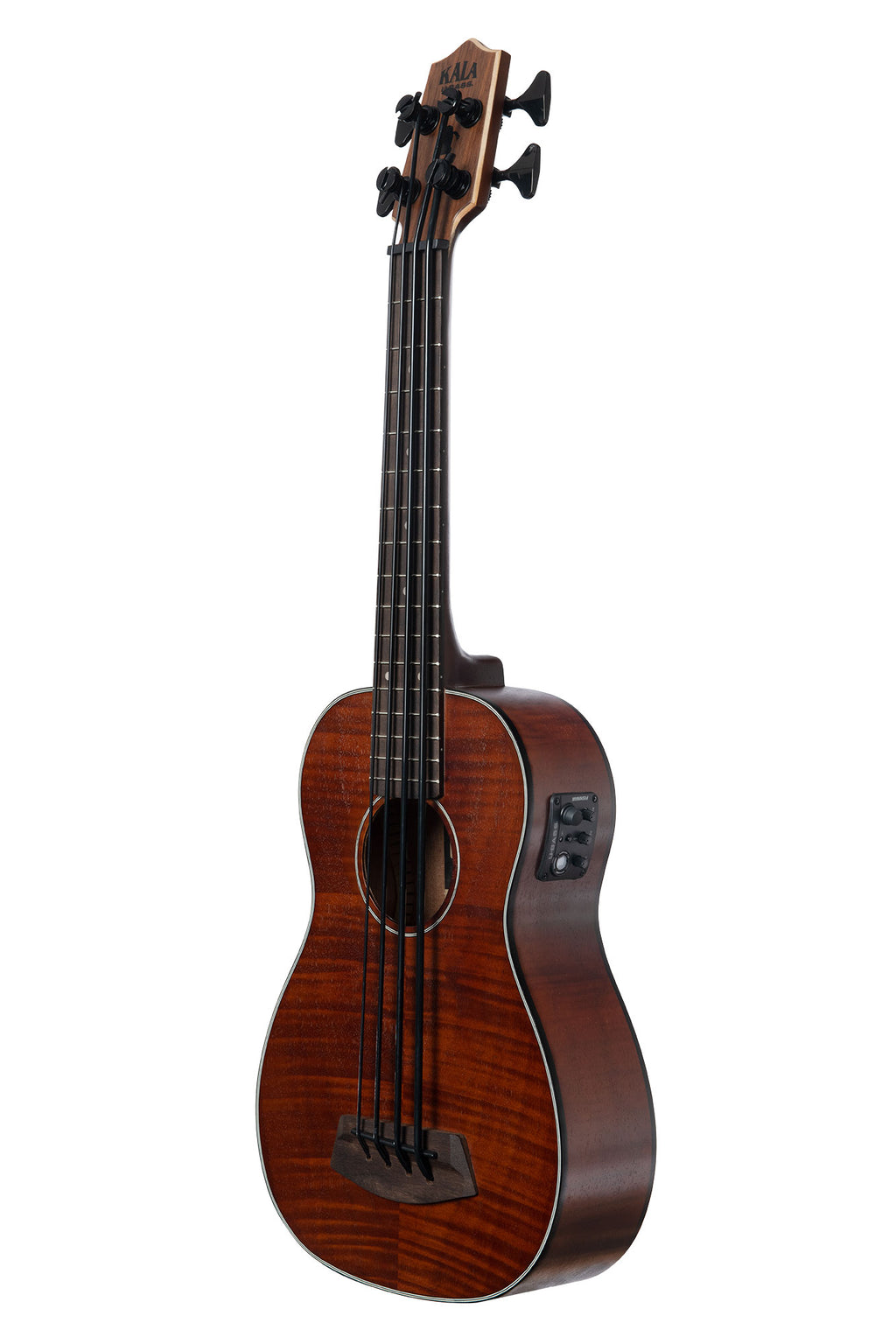 Exotic Mahogany Left-Handed Acoustic-Electric U•BASS®