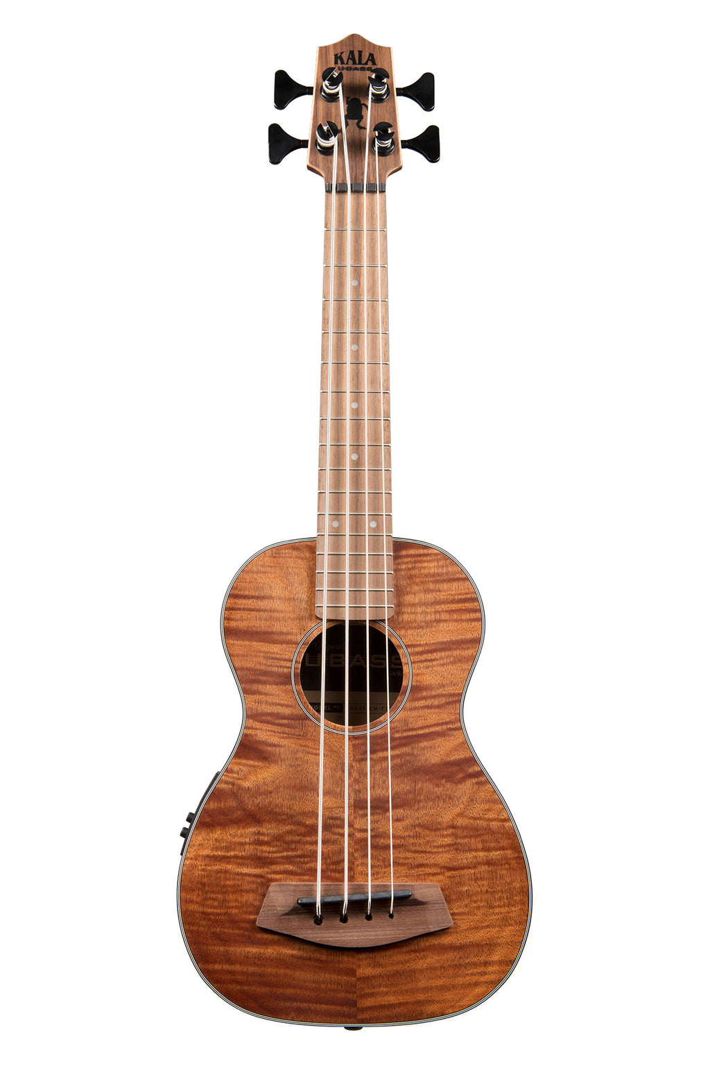Exotic Mahogany U•Bass w/ Round Wounds