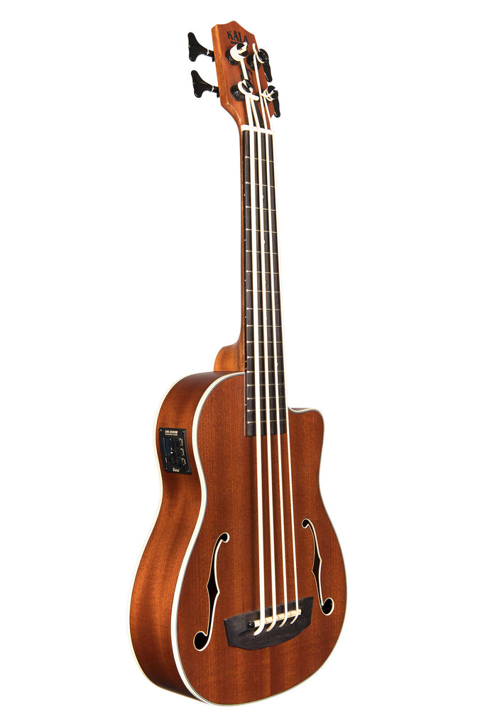 Journeyman Acoustic-Electric U•BASS® with F-Holes