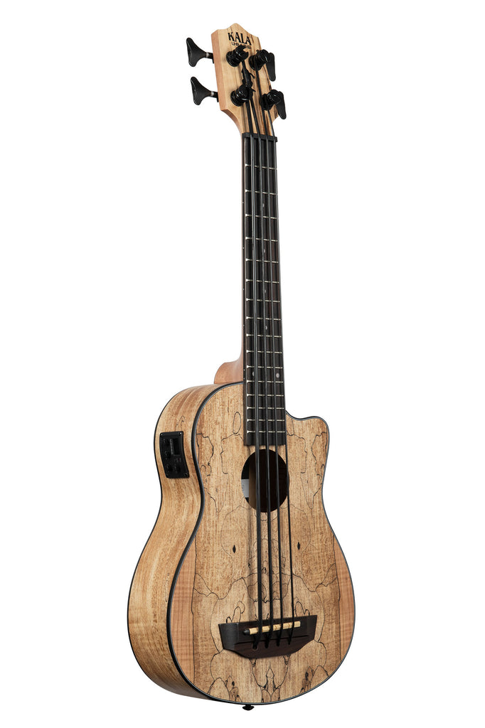 Spalted Maple Acoustic-Electric U•BASS