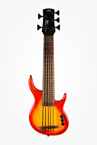 Cherry Burst 5 String SUB Solid Body
