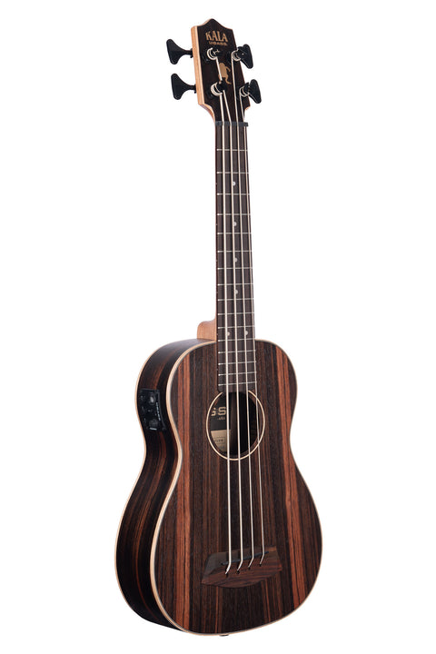 Striped Ebony With Round Wounds Acoustic-Electric U•BASS®