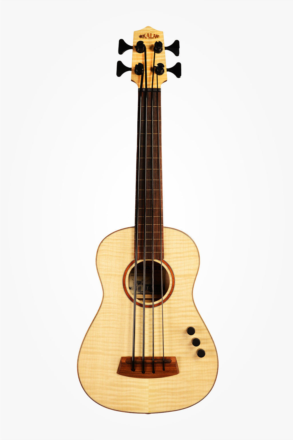 Solid Figured Maple Acoustic-Electric